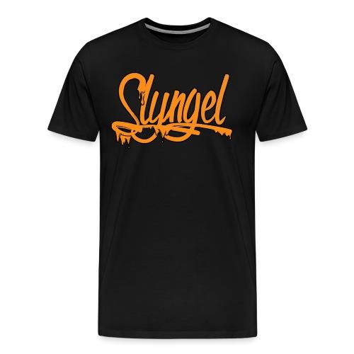 Slyngel Slime Orange - Premium T-skjorte for menn