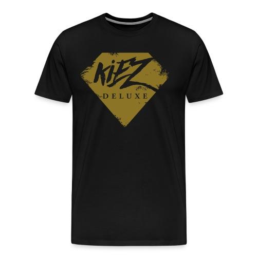Kiez Deluxe Logo Rugged - Männer Premium T-Shirt