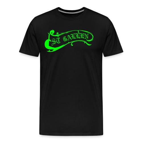 St. Gallen Logo - Männer Premium T-Shirt