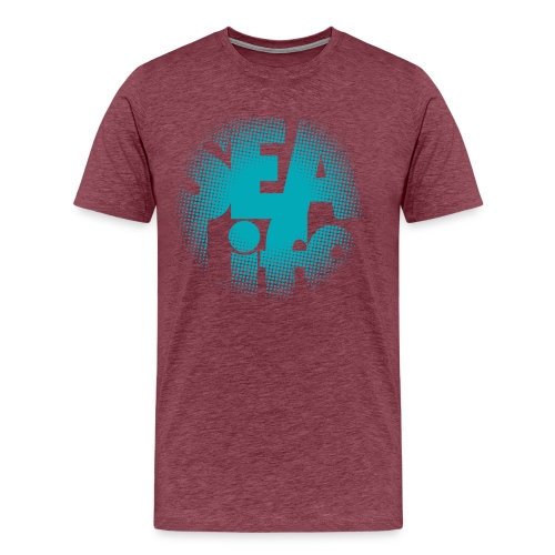 Sealife surfing tees, clothes and gifts FP24R01A - Miesten premium t-paita