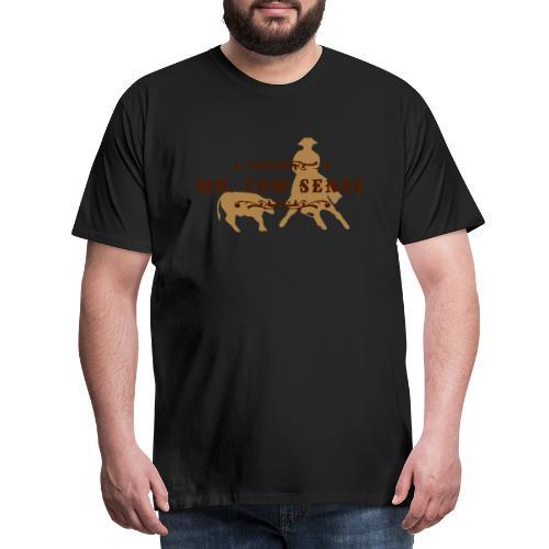 (mr_cowsense_neu) - Männer Premium T-Shirt