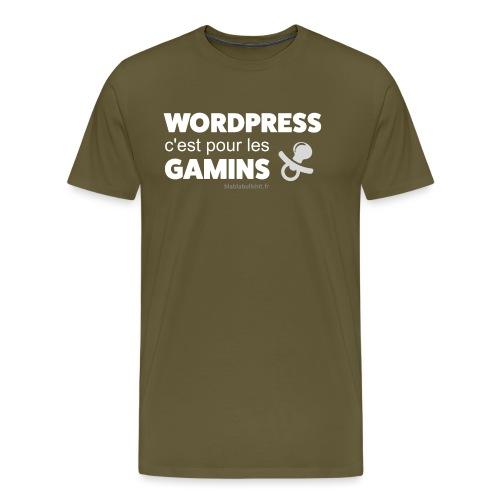 WP c'est pour les gamins - T-shirt Premium Homme