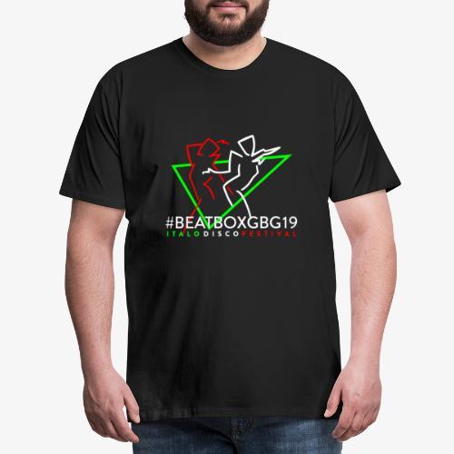 BEATBOXGBG19 #logo - Premium-T-shirt herr