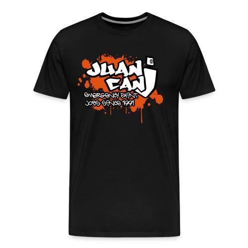 Juan can logo for spreadshirt Orange - Men's Premium T-Shirt