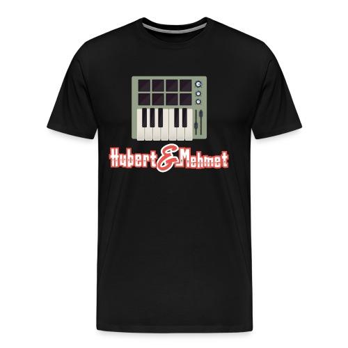 H M shirt unten gif - Männer Premium T-Shirt