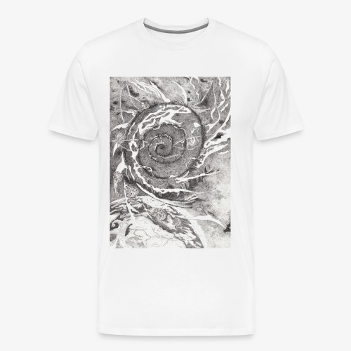 Decipher Entity by Rivinoya - Miesten premium t-paita