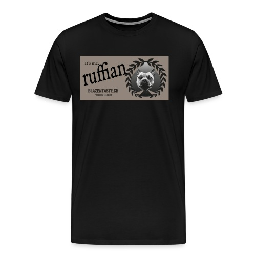 cloths ruffian - Männer Premium T-Shirt