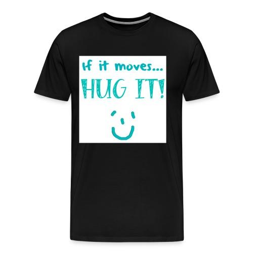 hugit greeb png - Men's Premium T-Shirt