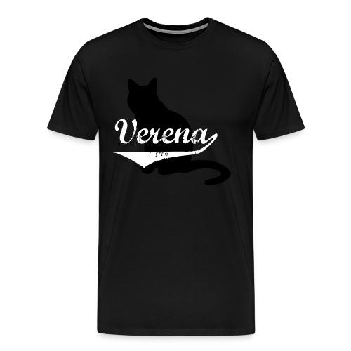 Verena Cat - Männer Premium T-Shirt