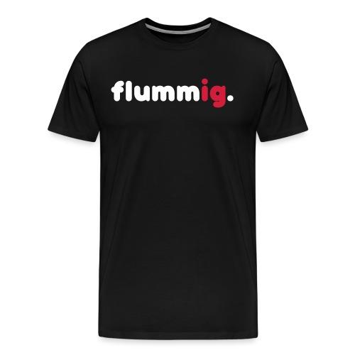 FLUMMIG. - Premium-T-shirt herr