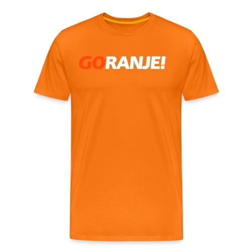 Go Ranje - Goranje - 2 kleuren - Mannen Premium T-shirt