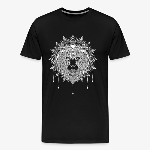 Lion Mandala - Men's Premium T-Shirt