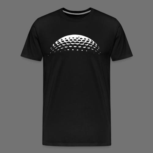 Golf Ball Golf - Koszulka męska Premium