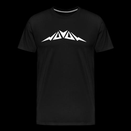 logo weiß png - Männer Premium T-Shirt