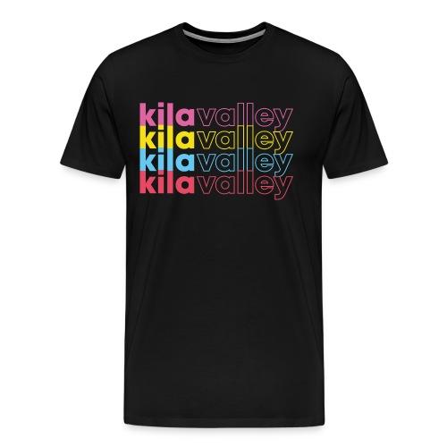 kila multicolors - Premium-T-shirt herr