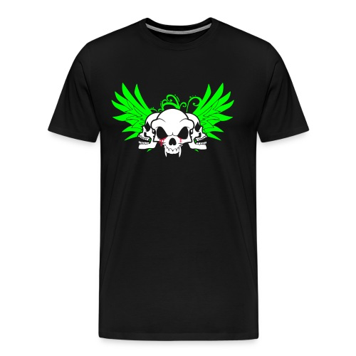 skull and wings - Men's Premium T-Shirt