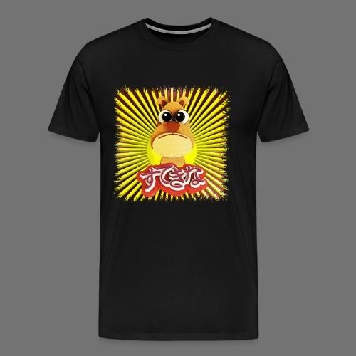 Cute Dog - Premium T-skjorte for menn
