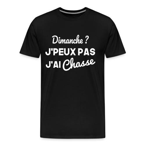 Dimanche Chasse - T-shirt Premium Homme