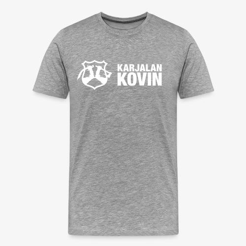 karjalan kovin vaaka - Miesten premium t-paita