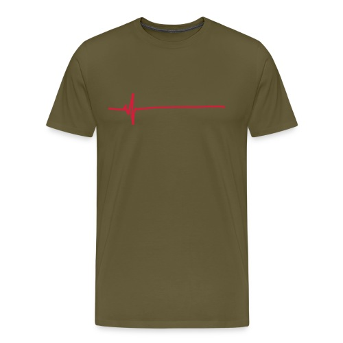 Flatline - Men's Premium T-Shirt