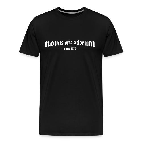 Novus Ordo Seclorum - since 1776 - - Männer Premium T-Shirt