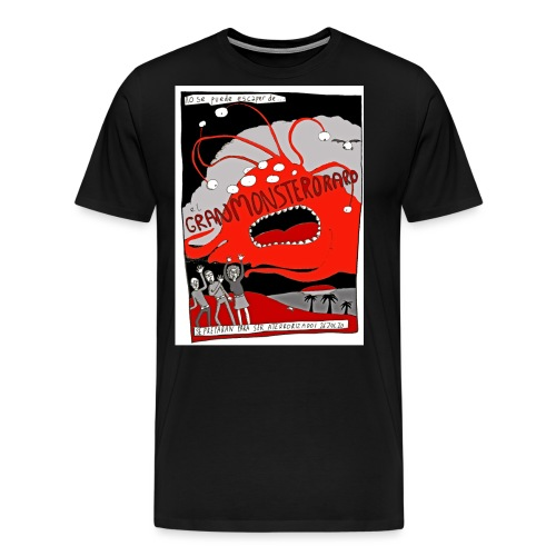 gran monstero aro - Men's Premium T-Shirt
