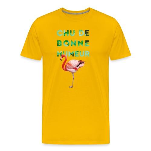 Pl_tshirt_typo flamand_40 - T-shirt Premium Homme