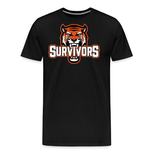Survivors - Premium-T-shirt herr