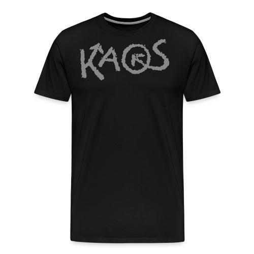 kaoslogo til tshirt - Premium T-skjorte for menn