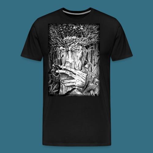 Mushroom Man - Koszulka męska Premium