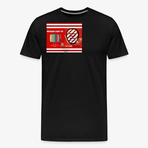 Sponsored by Logo - Men's Premium T-Shirt