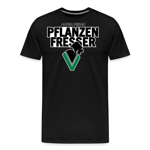 Pflanzenfresser_Bold - Männer Premium T-Shirt