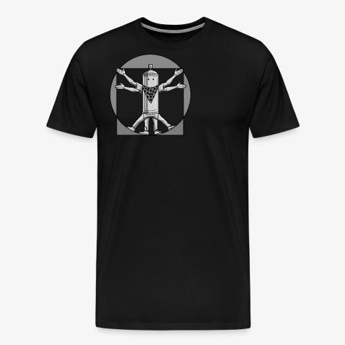 vitruvian graffiti love - Männer Premium T-Shirt