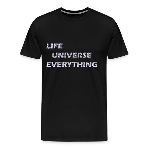 LIFE = 42 - Men's Premium T-Shirt