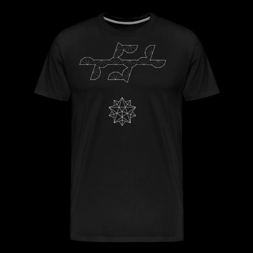 Serie 03   Small stellated icosahedron - Camiseta premium hombre