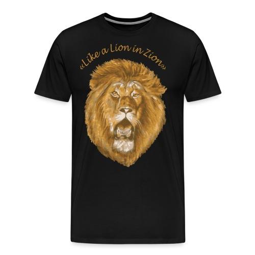 lion zion - T-shirt Premium Homme