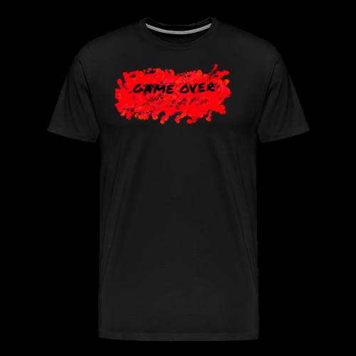 GAME OVER - Herre premium T-shirt
