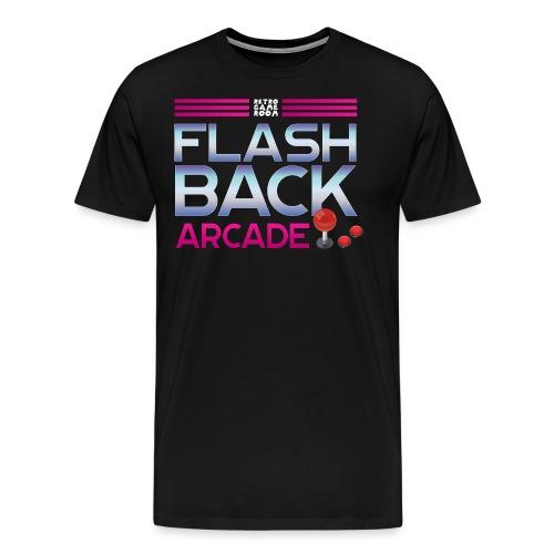 flash back logo png - Men's Premium T-Shirt
