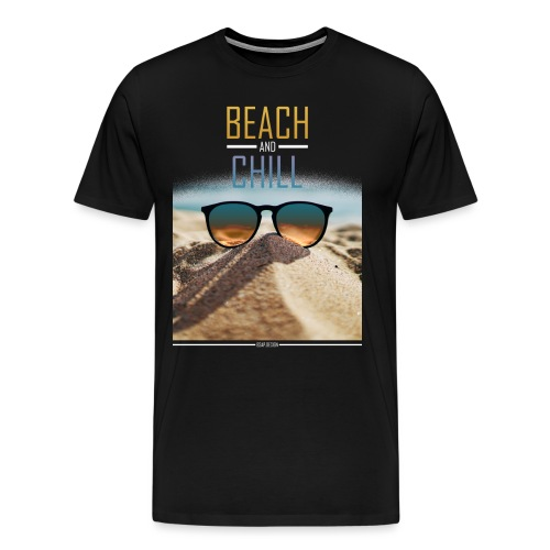 Beach and Chill - Männer Premium T-Shirt