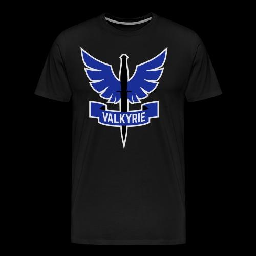 Blue Valkyrie Logo - Men's Premium T-Shirt