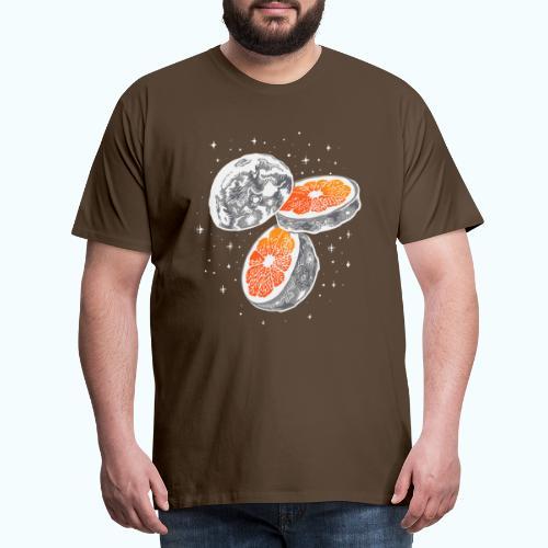 Moon orange - Men's Premium T-Shirt
