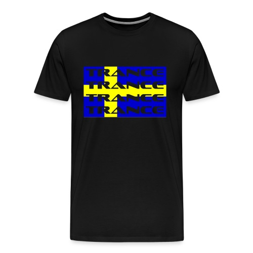 sverige_trance - Premium-T-shirt herr