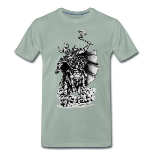 Warrior Skull - Männer Premium T-Shirt