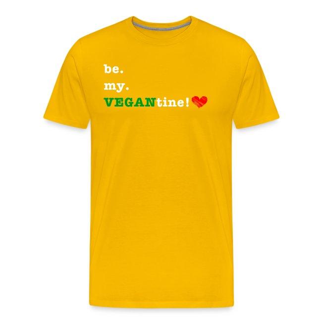 be my VEGANtine - white
