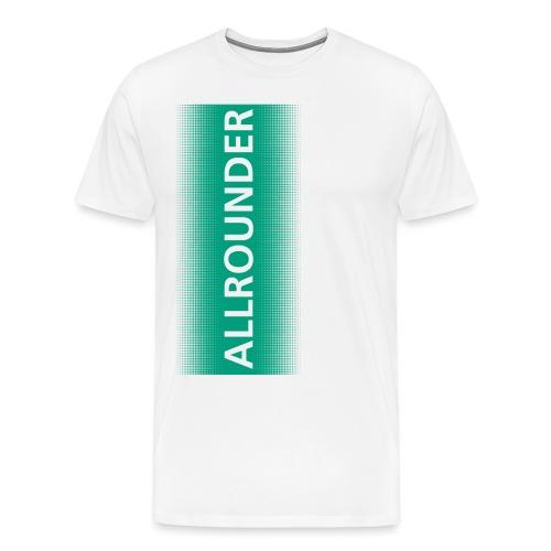 allrounder farbe neu final left png - Männer Premium T-Shirt