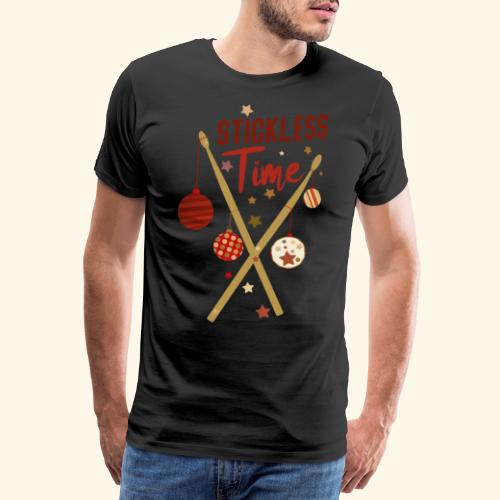Stickless Time Drums - Männer Premium T-Shirt