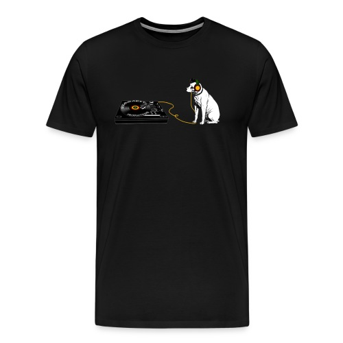 his master s voice big png - Men's Premium T-Shirt