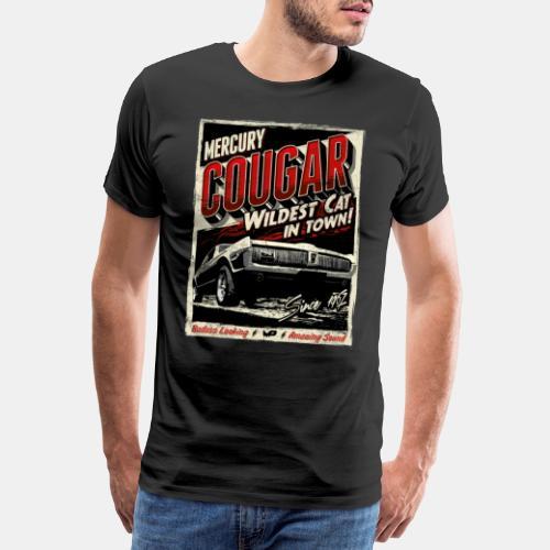 Mercury Cougar 1968 rot - Männer Premium T-Shirt