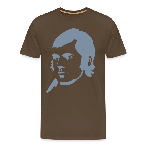 Robbie Burns - Mannen Premium T-shirt