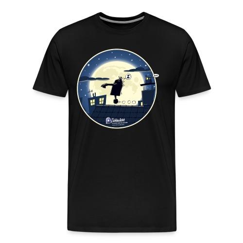 Emil und der Mond - Männer Premium T-Shirt